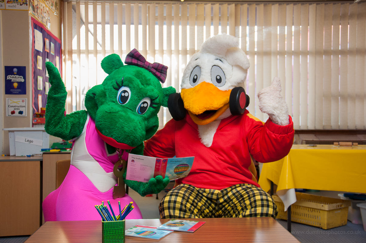 Parkdean Holiday Park Mascots